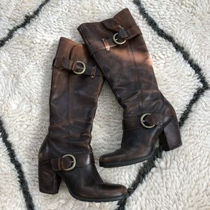 Born brand tall boots